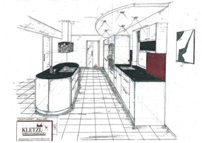 Plan Küche