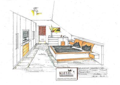 Plan Schlafzimmer