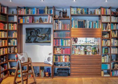 Wohnzimmer Bibliothek